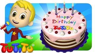 TuTiTu Songs Channel | Birthday Cake | Sing Along For Kids