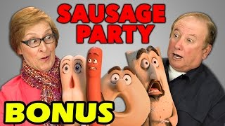Elders React to Sausage Party Trailer (Bonus #81)