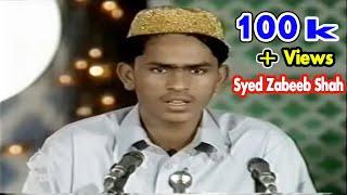 Syed Zabeeb Masood Shah Best Naat....... Memories