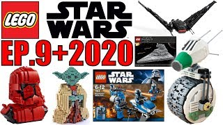 LEGO Star Wars Episode 9 The Rise of Skywalker & 2020 Set Rumors! EVERYTHING WE KNOW!