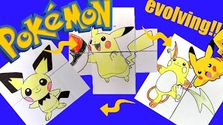 Pokemon Evolution Card DIY