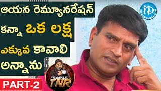 Ravi Babu Exclusive Interview Part #2    Frankly With TNR    Talking Movies With iDream