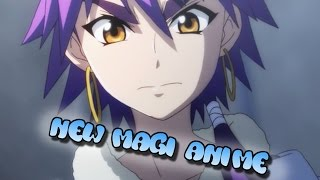 New Magi Anime Announced For 2016!!! Season 3?!?!