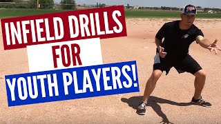 3 Baseball Infield Drills for Youth Players (FUN!!)