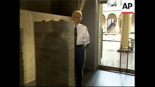 Exhibition shows off see-through concrete