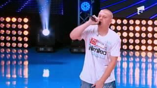 Rareş Raicu a cântat o compoziţie proprie la preselectiile X Factor Romania!