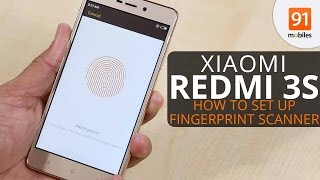 Xiaomi Redmi 3s: How to Set Up Fingerprint Scanner [Quick]