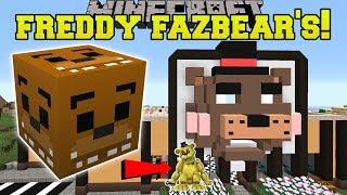 Minecraft: FREDDY FAZBEAR'S PIZZA HUNGER GAMES - Lucky Block Mod - Modded Mini-Game