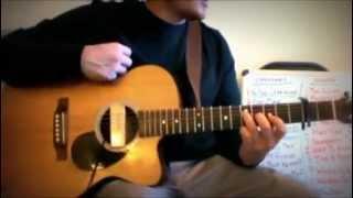 I Wont Give Up - Guitar Lesson - Jason Mraz - Part 1/3 - Brandon Joshua