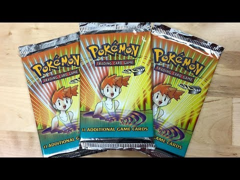 Xxx Mp4 3x MISTY GYM HEROES VINTAGE POKEMON PACK OPENING 3gp Sex