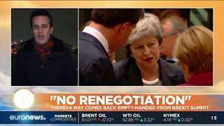 Brexit deal not open for renegotiation, EU leaders tell May   #GME