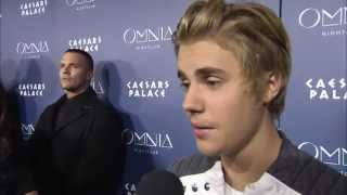 Justin Bieber 21st Birthday at OMNIA Nightclub