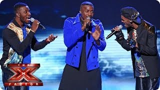 Rough Copy sing In The Air Tonight - Live Week 1 - The X Factor 2013