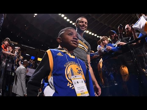 When a 6 Year Old Meets Stephen Curry