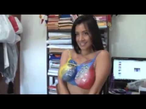 MegaTetona promueve el voto en venezuela Diosa Canales invita a Mojar el chiquito