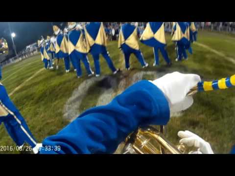 Tuba Cam- 2016 Mighty Indian Marching Band @Bridgeport 8-26-16