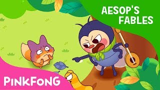 The Cicada and the Fox | Aesop's Fables | Pinkfong Story Time for Children