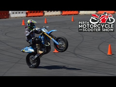 Download Perth Motorcycle Show - Supermoto Races (NO MUSIC) free