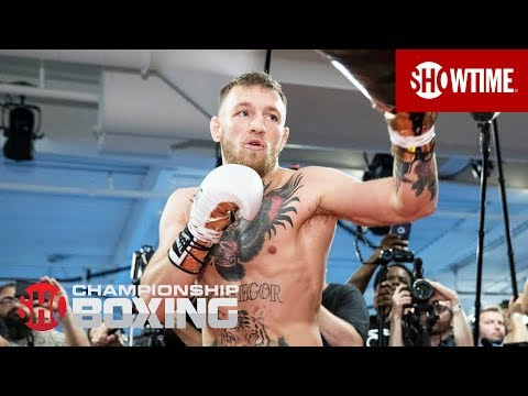 Conor McGregor: Media Workout | Mayweather vs. McGregor - 8/26 on SHOWTIME PPV