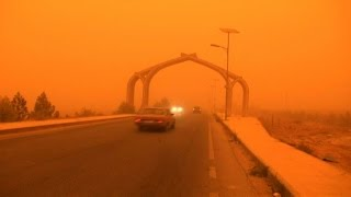 Dense sandstorm engulfs parts of the Middle East uploaded on 10-09-2015 1765 views