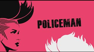 Eva Simons feat Konshens - Policeman (Official Lyrics Video)