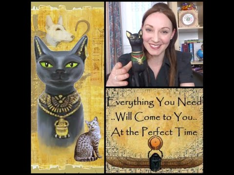 Magical Manifestation - Bast Goddess and my future cat! Bastet