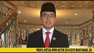 Profil & Biografi SIngkat Ketua DPRD Kutim (2014-2019) Mahyunadi