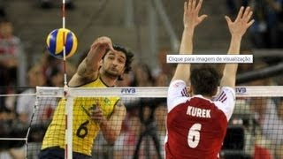 POLÔNIA X BRASIL - LIGA MUNDIAL 2013 - Men's Volleyball World League