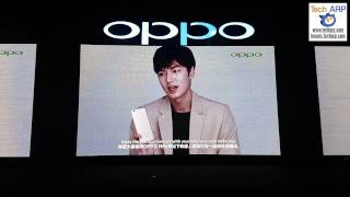 Celebrities Lee Min-ho, Fattah Amin & Amber Chia Show Off The OPPO R9s