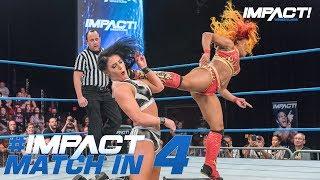 Tessa Blanchard vs Kiera Hogan (No DQ): Match in 4 | IMPACT! Highlights June 14, 2018