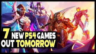 7 AWESOME PS4 GAMES COMING TOMORROW - 1 IS FREE!