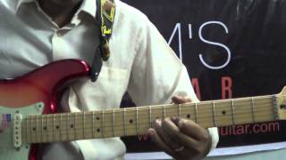Guitar Lesson:Techniques: How To Bend The Strings (www.tamsguitar.com)