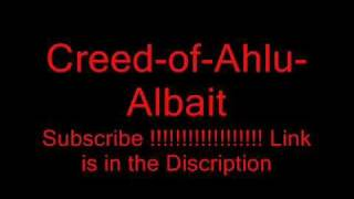 Creed-of-Ahlu-Albait ( Free Download see link in Discription )