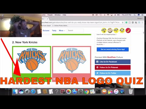 THE HARDEST NBA LOGO QUIZ YOU'LL EVER TAKE!!! | NBA QUIZ