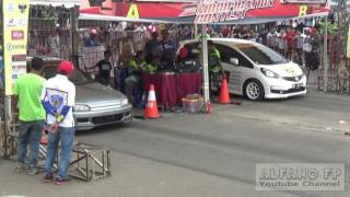 Final Drag race kelas sedan 1700 cc standart,Pringsewu 16 April 2017