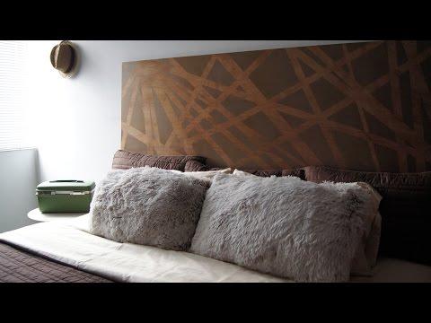 DIY Cómo hacer una cabecera moderna para tu dormitorio Hazlo tú mismo