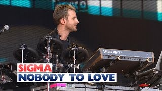 Sigma - 'Nobody To Love' (Live at Jingle Bell Ball 2015)