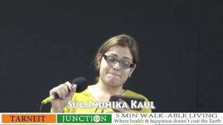 SUGANDHIKA KAUL  singing CHITTI NA KOI SANDESH at Sur Sandhya May 2016