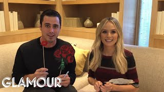 Ben and Lauren of The Bachelor Play the Pre-Newlywed Game   Glamour