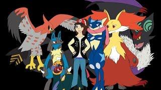 My Pokemon Team- Speedpaint