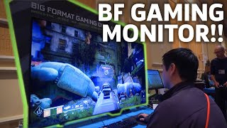 Gaming On Nvidia's Huge 65-inch Monitor Is A BIG DEAL | CES 2018
