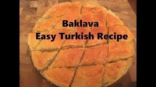 How to make Baklava | Easy Turkish Recipe