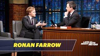 Ronan Farrow on Interviewing Rex Tillerson
