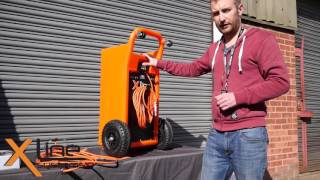 45ltr Water Fed Pole X-Trolley Demonstration - Professional 12v Window Cleaning System