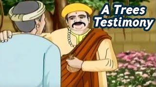 Akbar Birbal Stories In Hindi | A Trees Testimony | Hindi Animated Stories | Masti Ki Paathshala