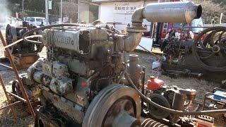 Old Engines in Japan 1970s? YANMAR Diesel Type 3KL 62hp