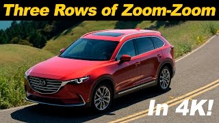 2016 Mazda CX-9 First Drive Review - in 4K UHD!