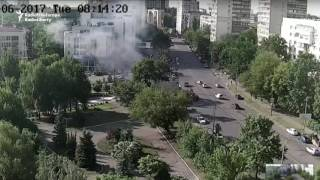 The Moment A Car Bomb Exploded In Kyiv