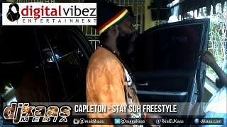 Capleton - Stay Suh Freestyle [Hot Steel Riddim] DigitalVibez Ent | Dancehall 2015