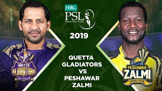 Match 31: 1st Qualifier Full Match Highlights Quetta Gladiators Vs Peshawar Zalmi | HBL PSL 2019